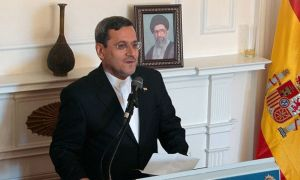 سخنرانی سفير ایران در مرکز عالی مطالعات دفاع ملی اسپانیا